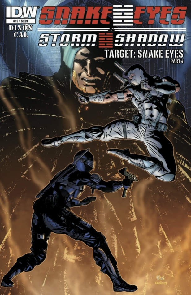 Snake Eyes & Storm Shadow #19