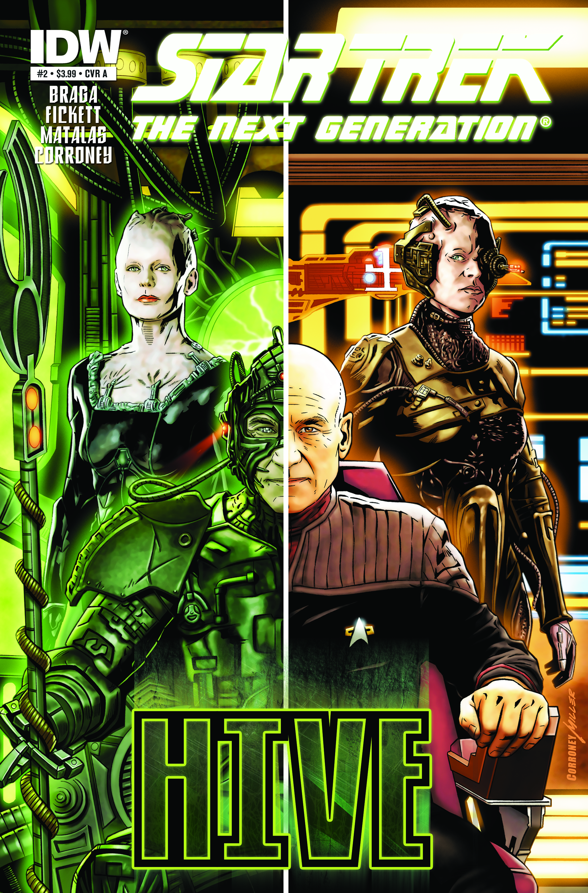 Star Trek: The Next Generation Hive #2