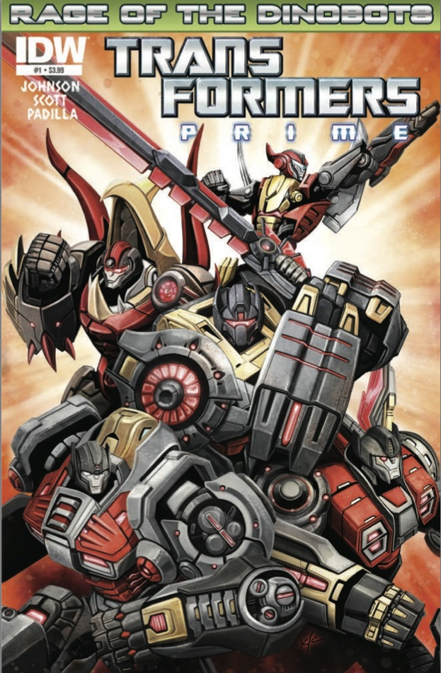 Transformers: Prime - Rage of the Dinobots #1