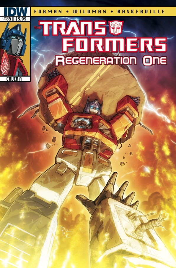 Transformers: Regeneration One #85