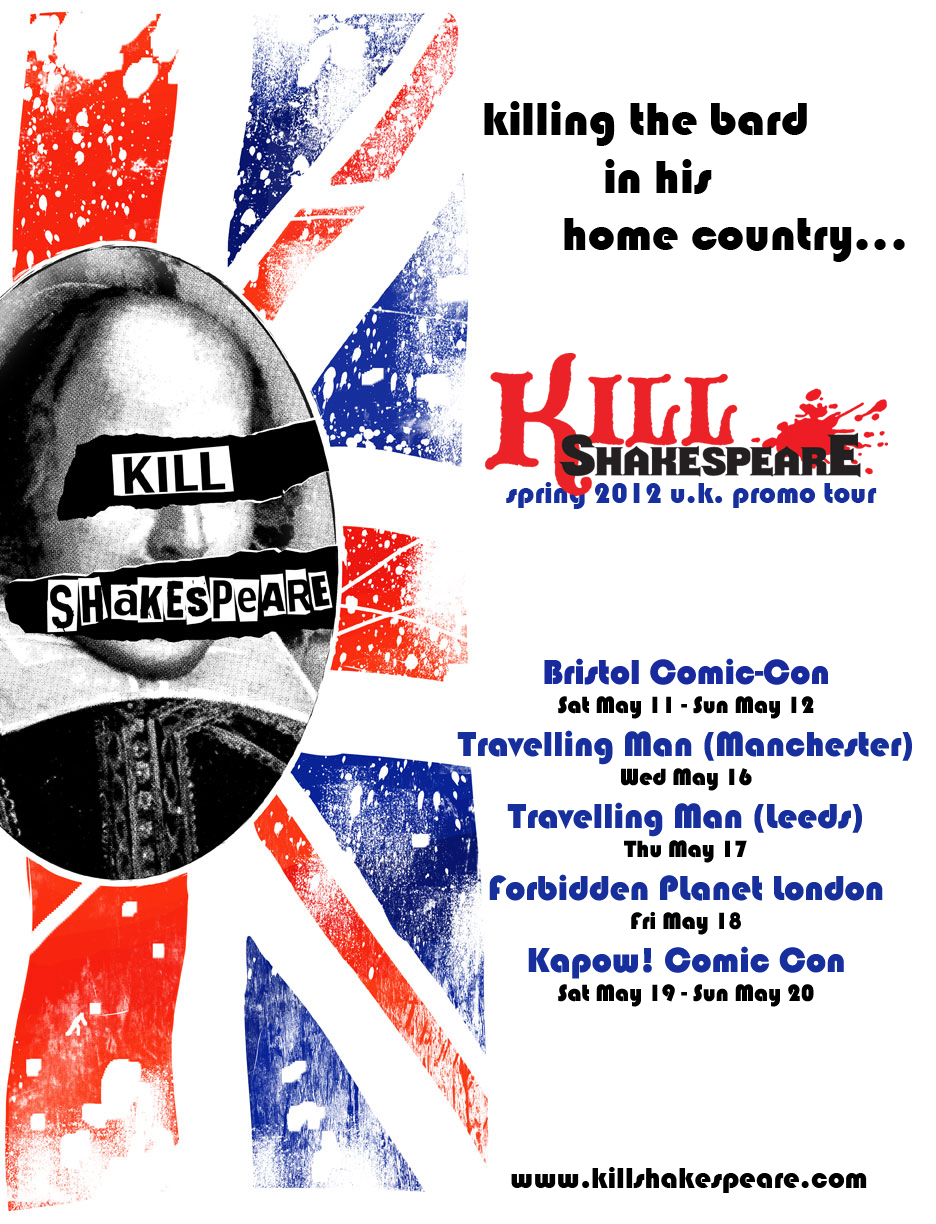 Kill Shakespeare Tour