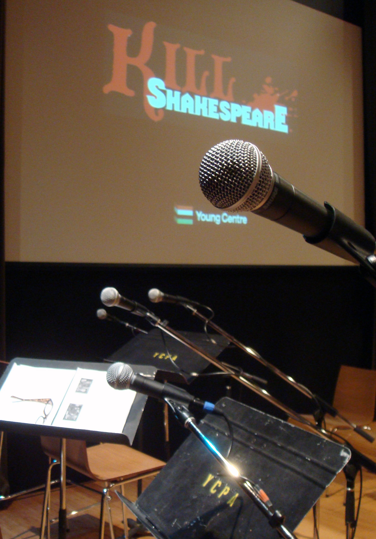 Microphone Kill Shakespeare