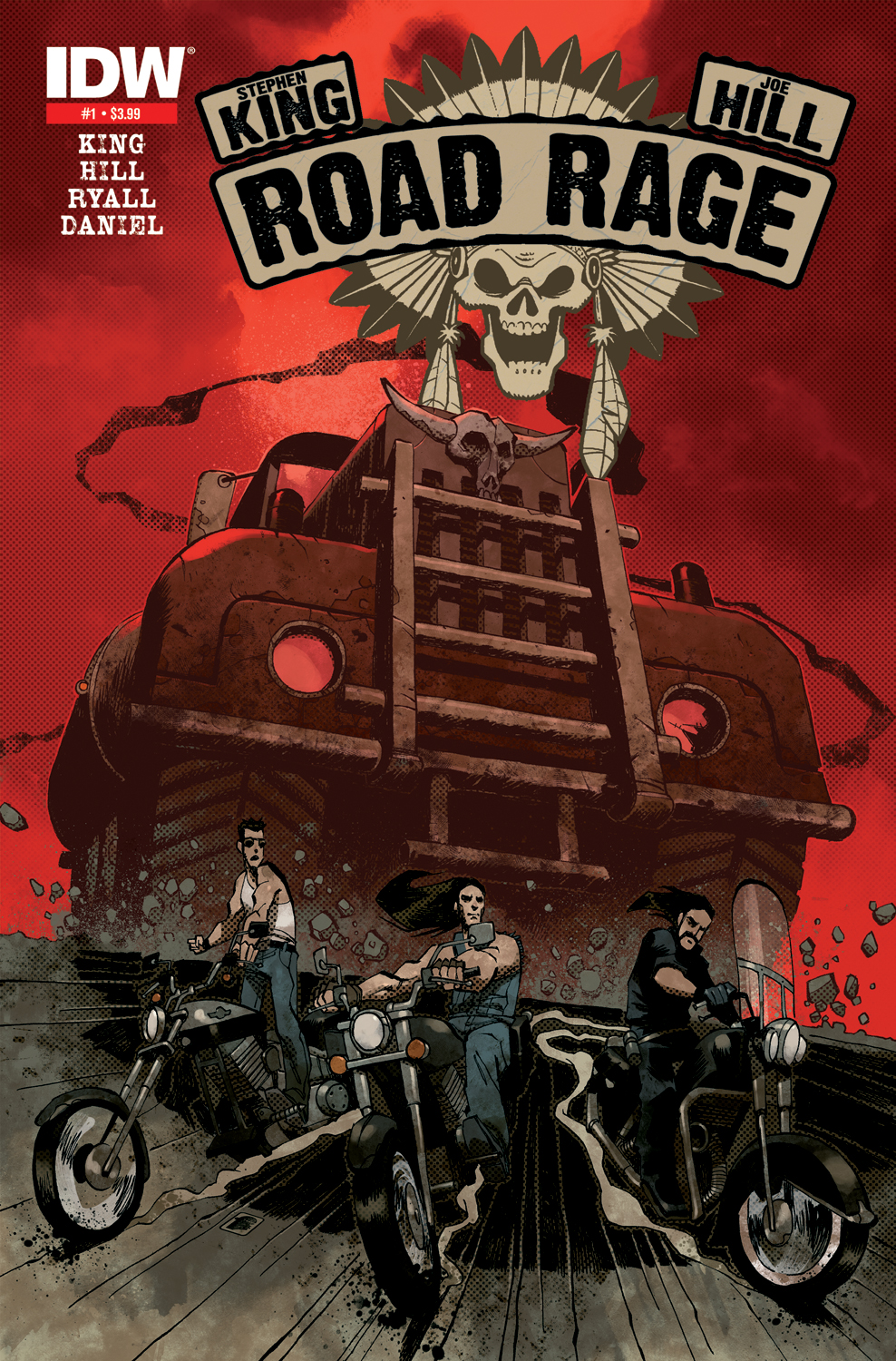 Road Rage #1 2nd Printing