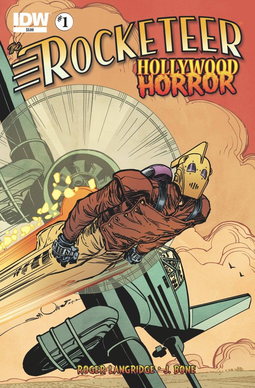 Rocketeer: Hollywood Horror #1
