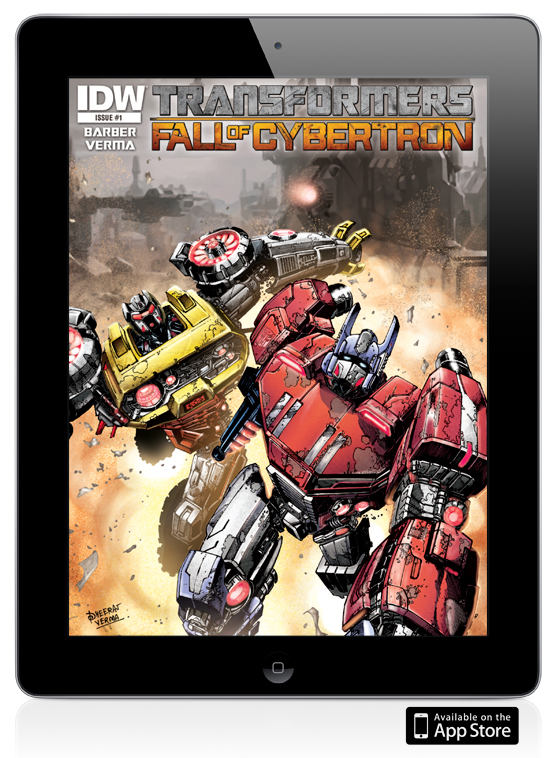 Transformers: Fall of Cybertron Digital