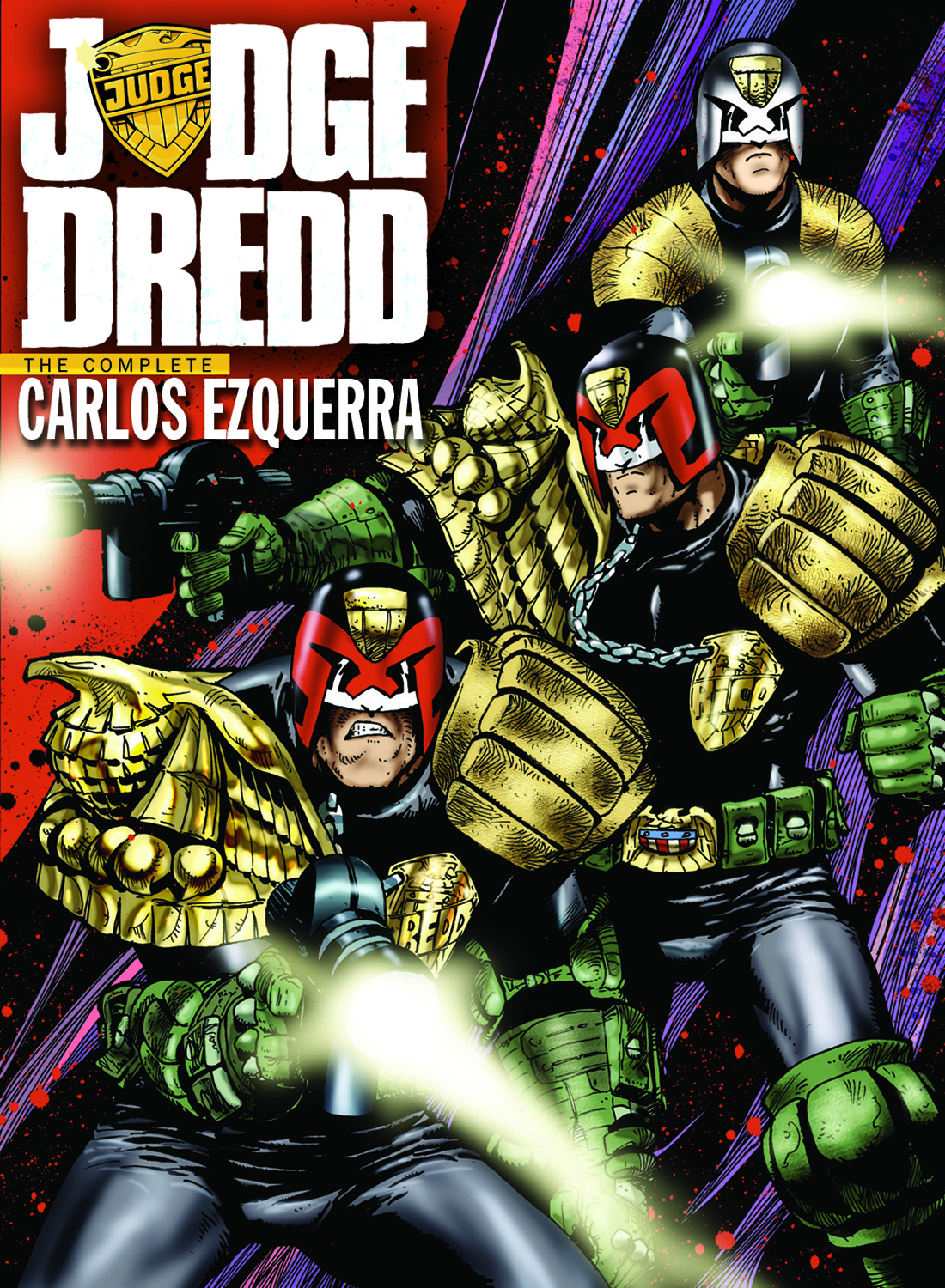 Judge Dredd: The Complete Carlos Ezquerra