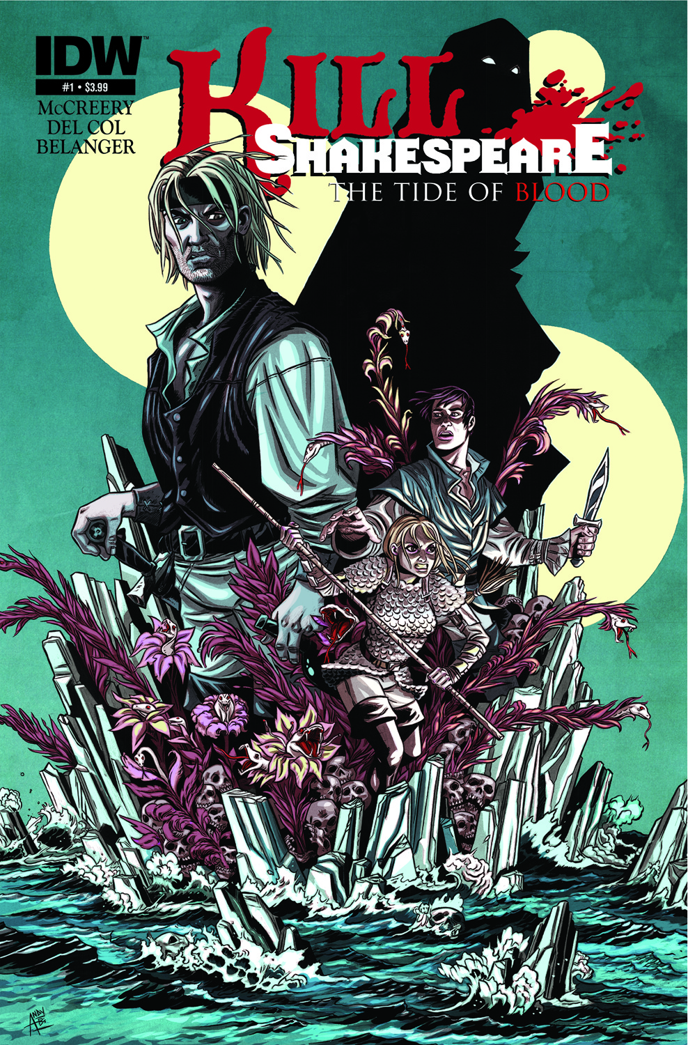 Kill Shakespeare: The Tide of Blood #1