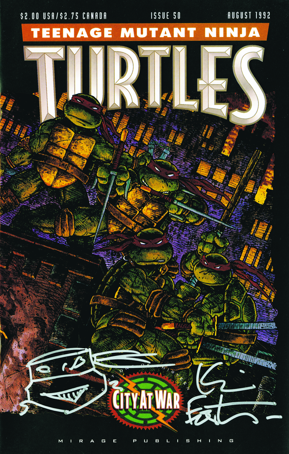 TMNT #50 Treasury Edition