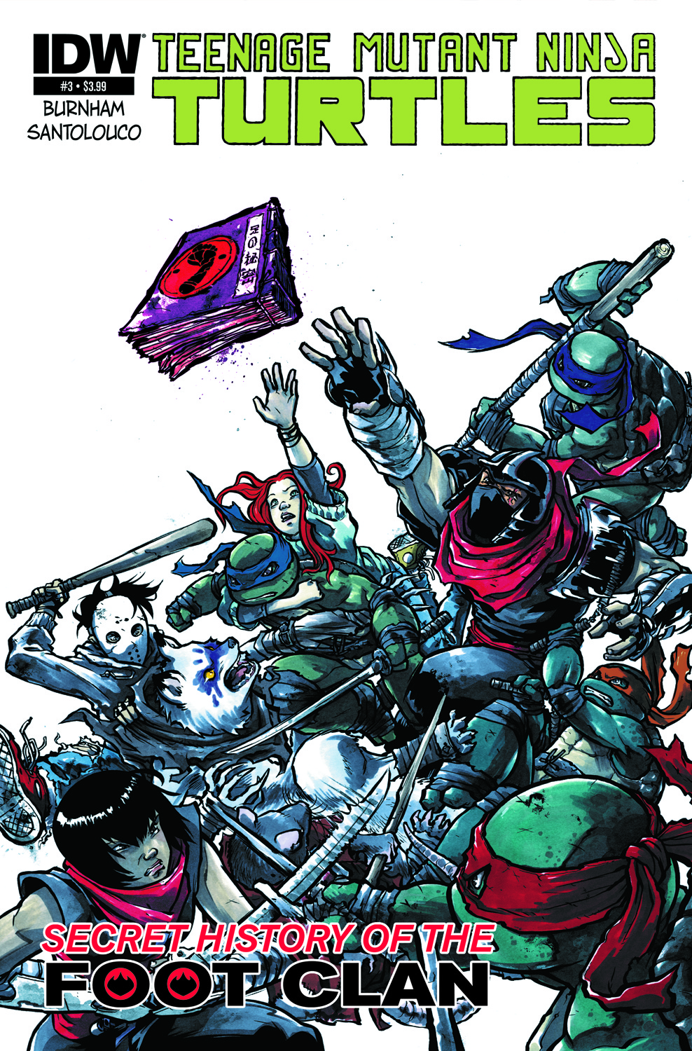 TMNT Secret History of the Foot Clan #3