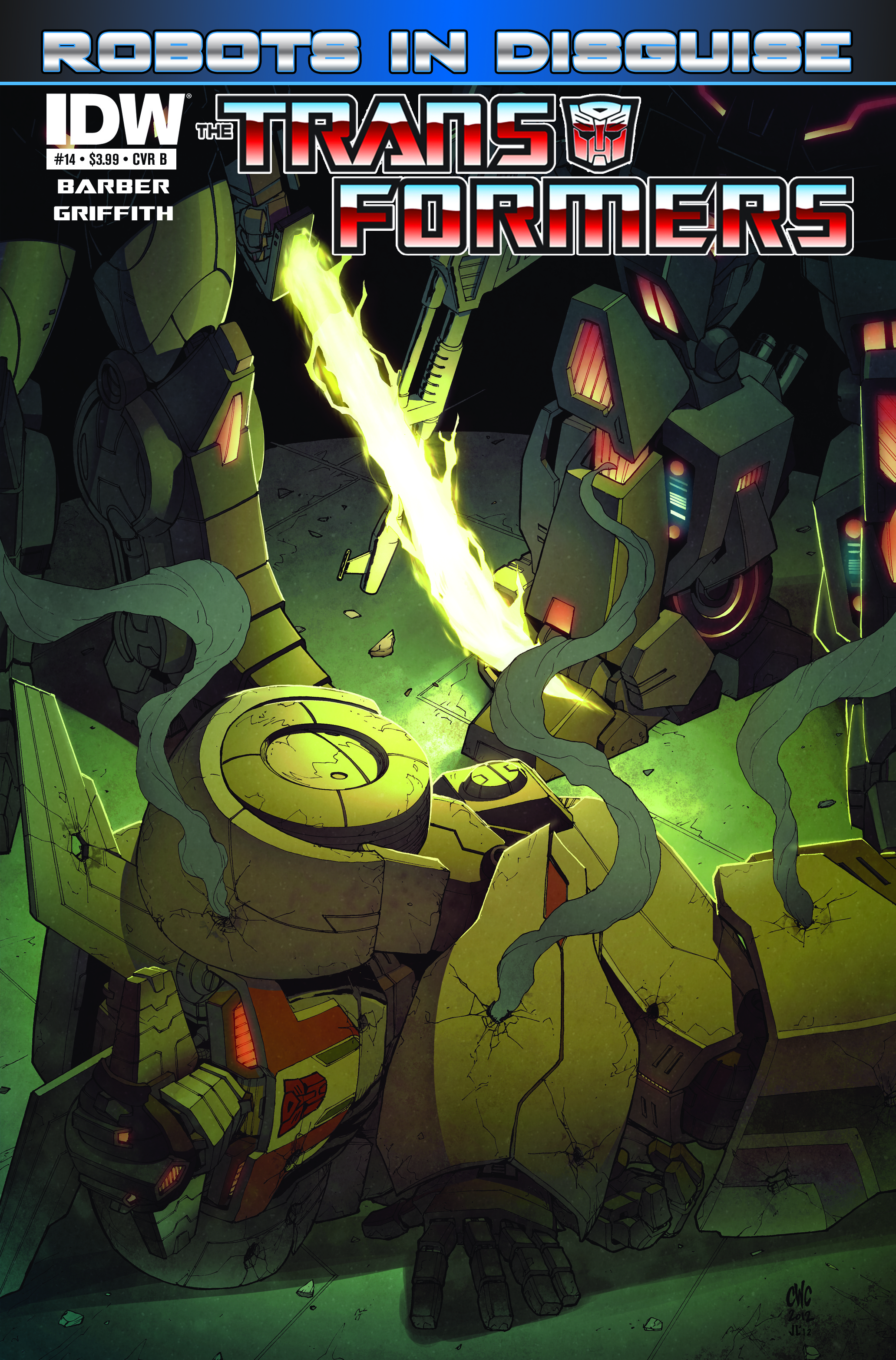 Transformers: Robots in Disguise #14