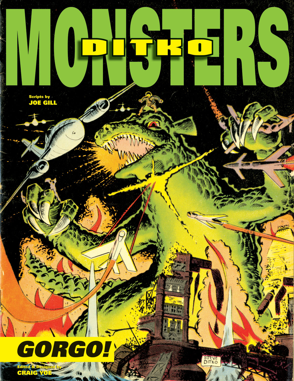 Steve Ditko's Monsters, Vol 1