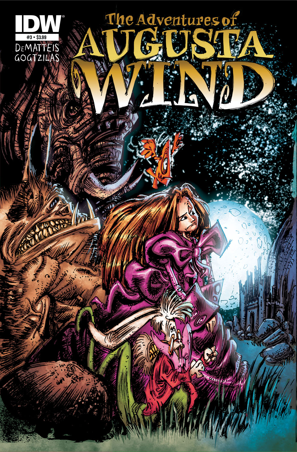 The Adventures of Agusta Wind #3