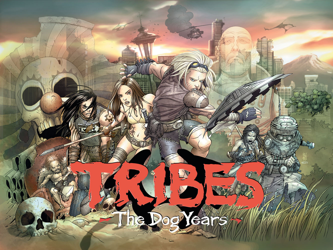 tribes dog years