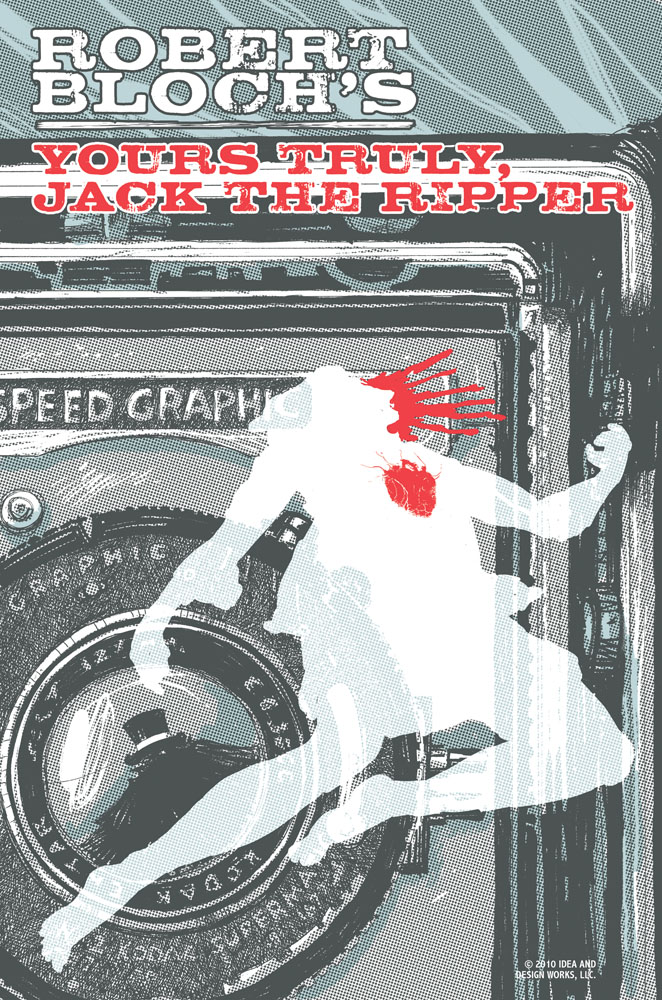 Yours Truly, Jack the Ripper #1 cover