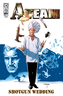 A-Team: Shotgun Wedding #3 cover