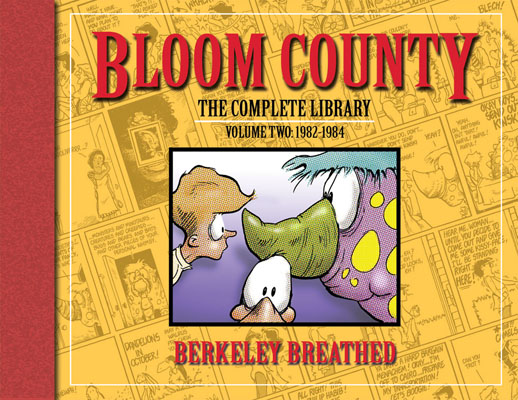 The Bloom County Library Vol 2 cover