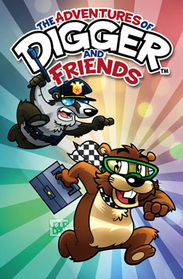 Digger and Friends TPB cover