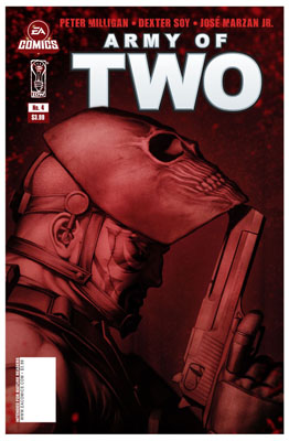 Army of Two #4 cover