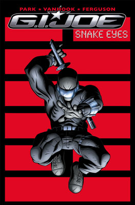 G.I. JOE: Snakes Eyes TPB cover