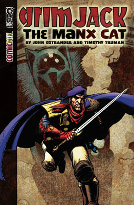 GrimJack: The Manx Cat TPB cover