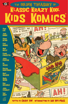 Krazy Kool Kids Komics cover