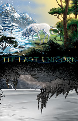 The Last Unicorn #1 cover