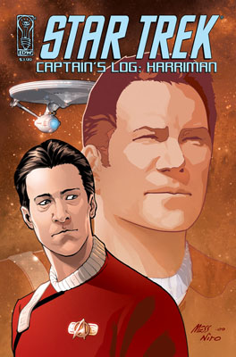Star Trek: Captain's Log: Harriman cover