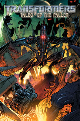 Transformers: Tales of the Fallen TPB cover