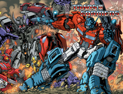 Transformers #6 wrap around cover