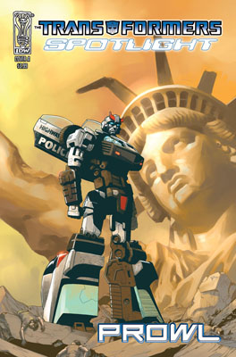 TRANSFORMERS: Spotlight: Prowl cover