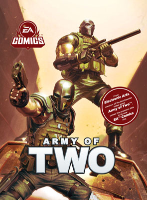 Army of Two #1 cover