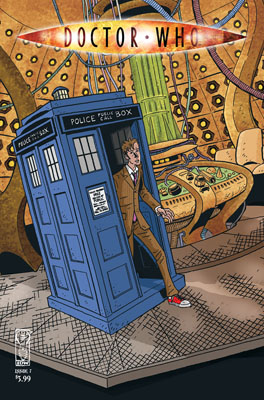 Doctor Who #7 cover