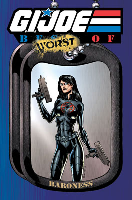 G.I. JOE: Best of Baroness cover
