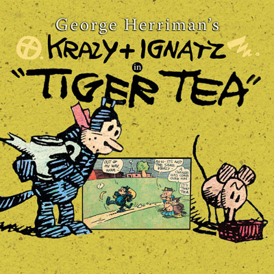 Krazy and Ignatz in Tiger Tea cover