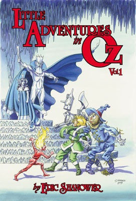 Little Adventures in Oz Volume 1 cover