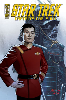 Star Trek: Captain's Log: Sulu cover