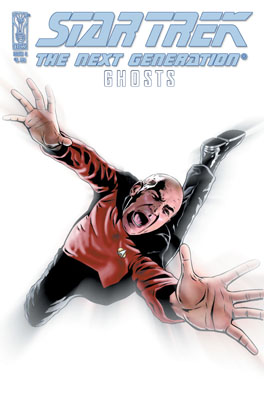 Star Trek: The Next Generation: Ghosts #3 cover