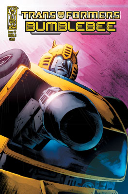 TRANSFORMERS: BUMBLEBEE #2 cover
