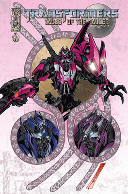 TRANSFORMERS: Tales of the Fallen #6 cover