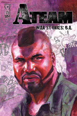 The A-Team: War Stories: BA cover