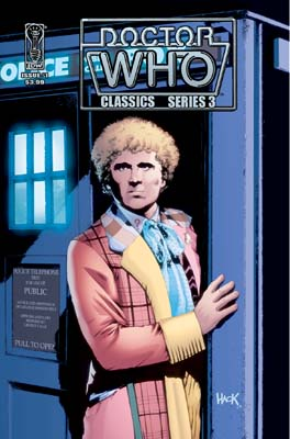 Doctor Who Classic Series 3, #1 cover