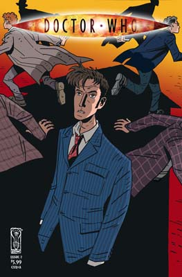 Doctor Who: Fugitive TPB cover