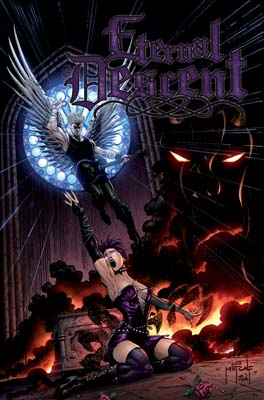 Eternal Descent #1 cover