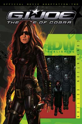 GI JOE: Movie Adaptation #2 SDCC cover