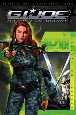 GI JOE: Movie Adaptation #3 SDCC cover