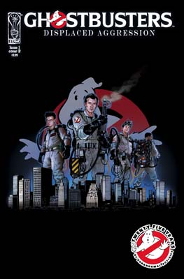 Ghostbusters: Displaced Aggression TPB cover