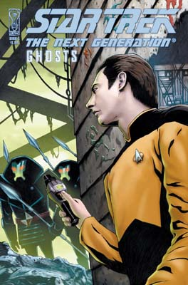 Star Trek: TNG Ghosts #5 cover
