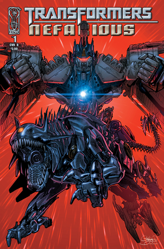 Transformers Nefarious #1 cover