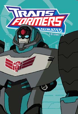 Transformers Animated Vol 14 cover