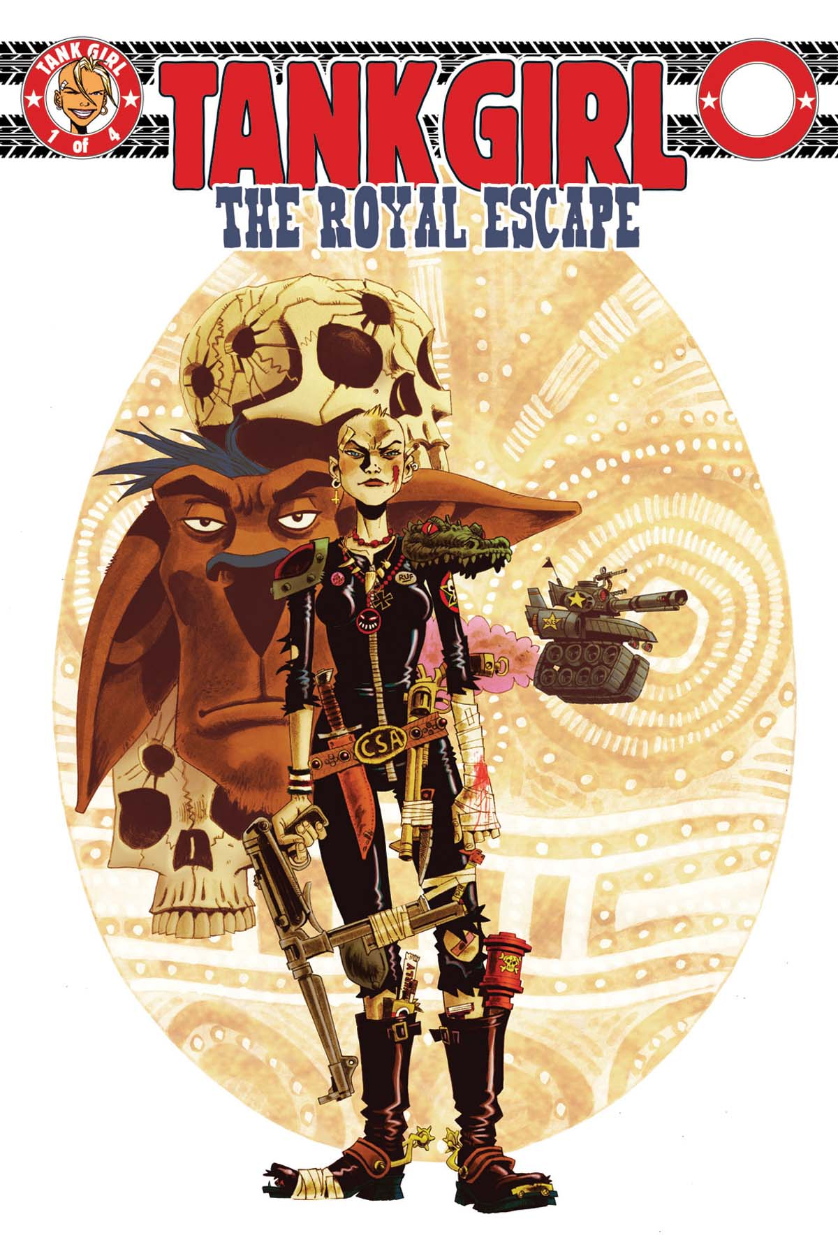 Tank Girl: Royal Escape #1 cover